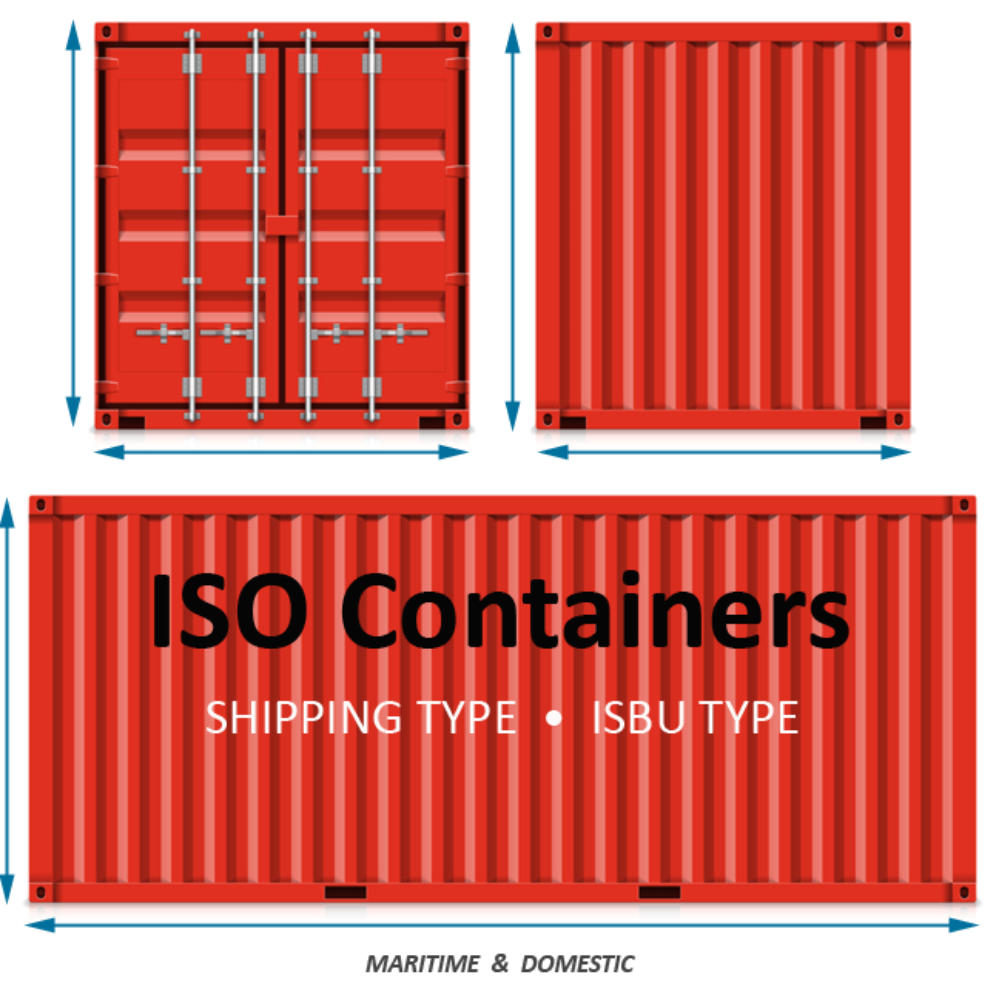 ISO Container- the start of your Voyager Cabin!